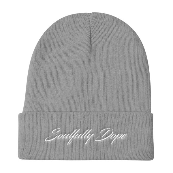 """Soulfully Dope Knit Beanie 12"""""""
