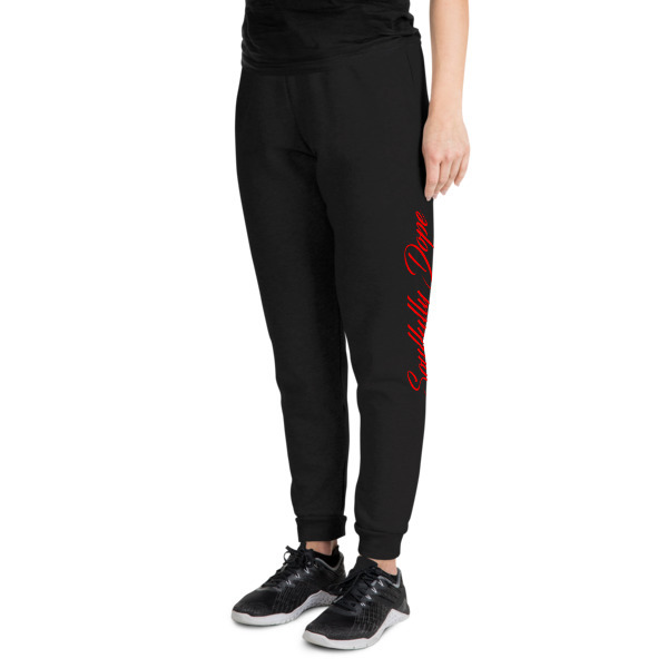 Soulfully Dope Unisex Joggers Red Edition 00081