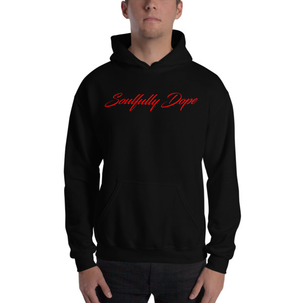 Soulfully Dope red Edition Unisex Heavy Blend Hooded Sweatshirt 00082