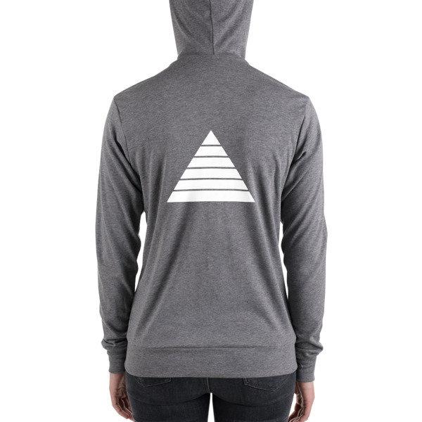 UnderDawg Unisex zip hoodie