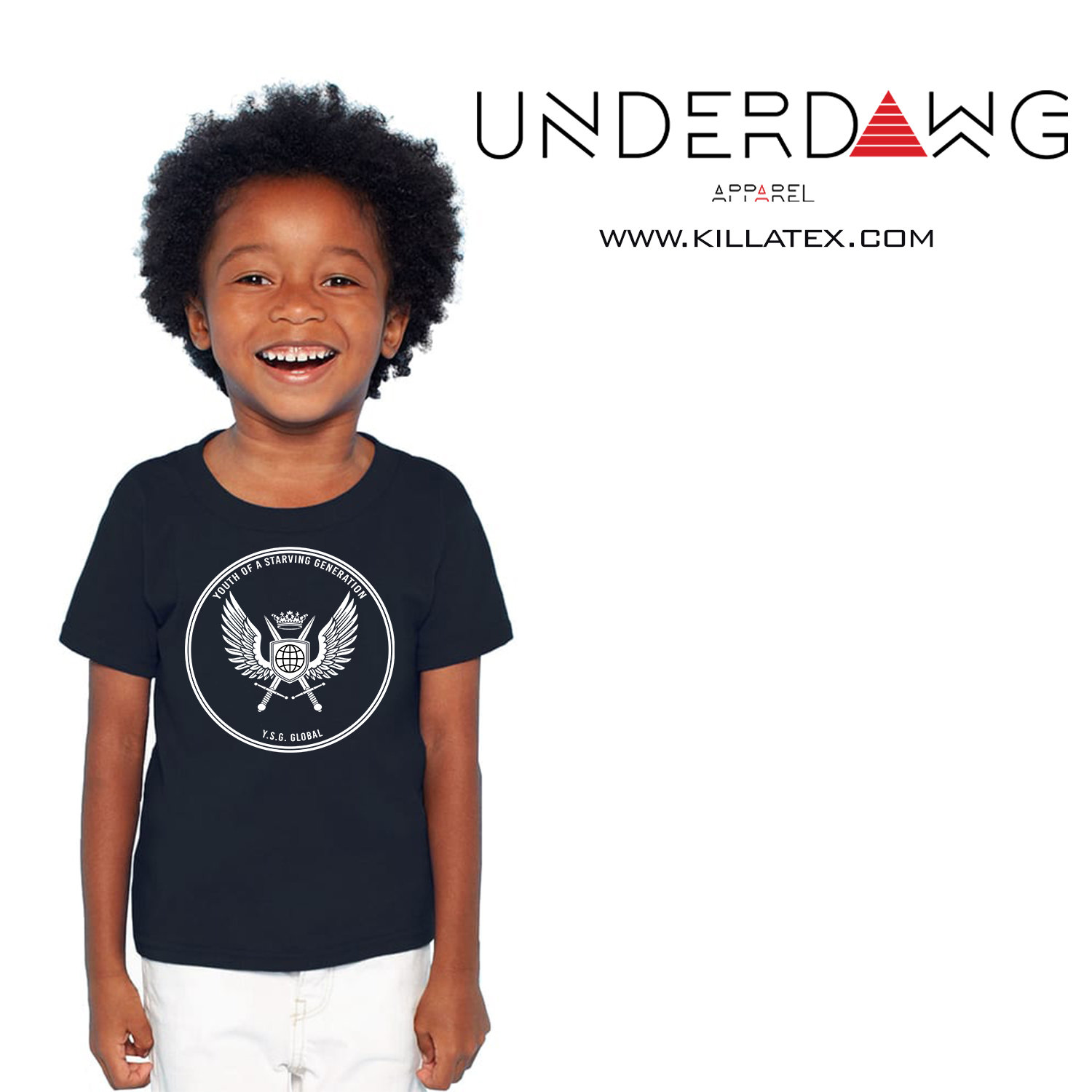 YSG Short sleeve kids t-shirt 00021