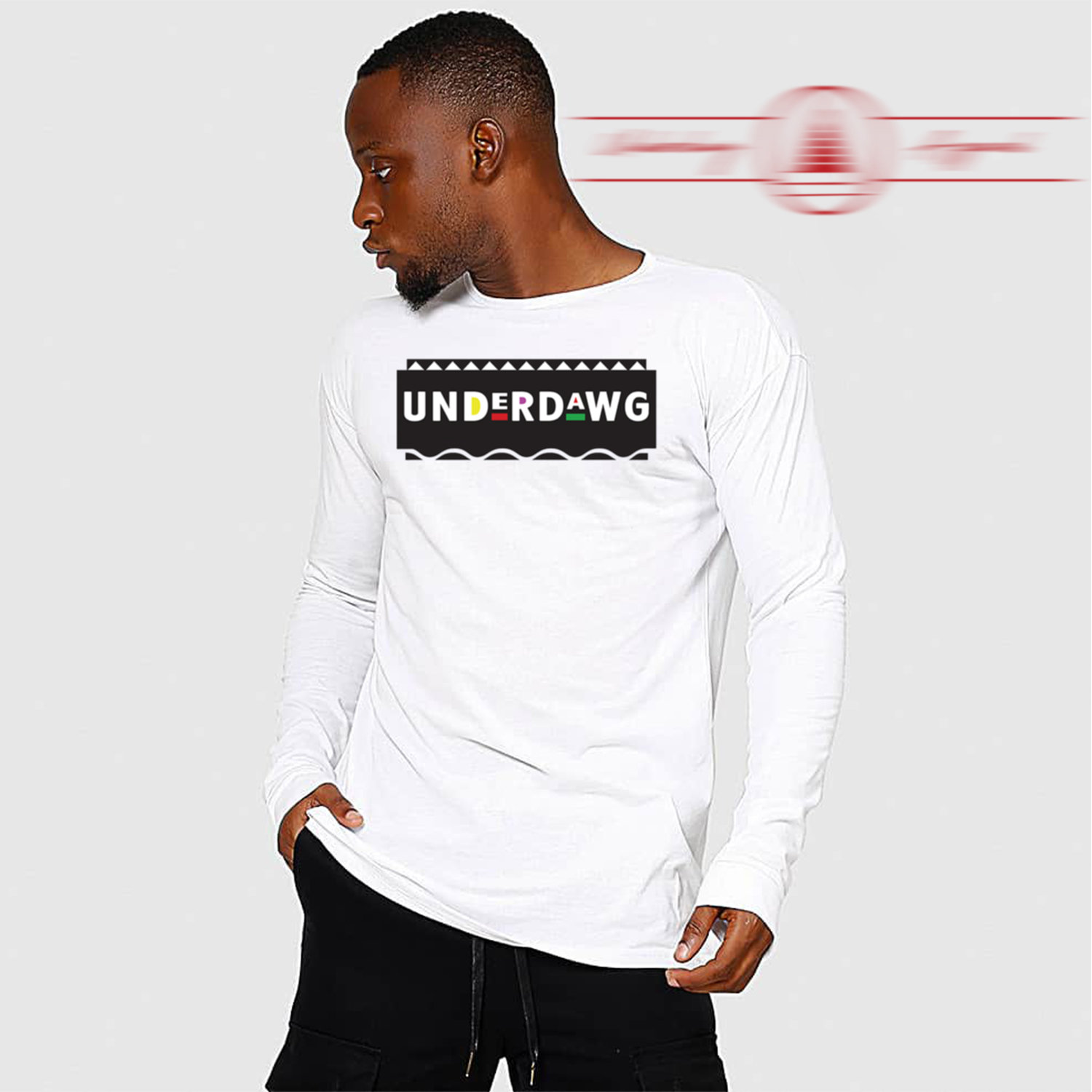 Underdawg 90s Long Sleeve T-Shirt 00053