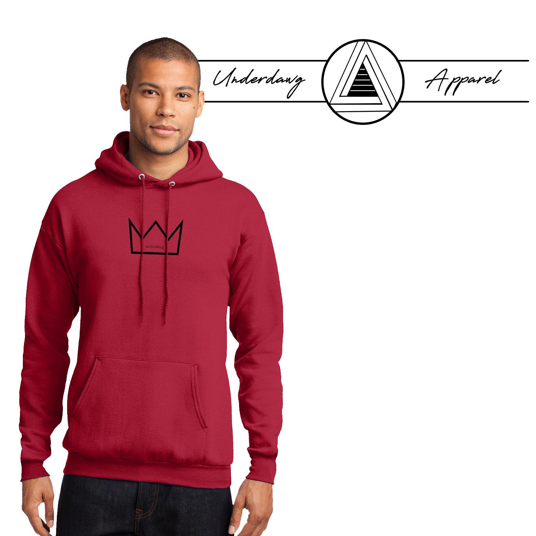 "Underdawg ""KING"" Hooded Sweatshirt 00056"