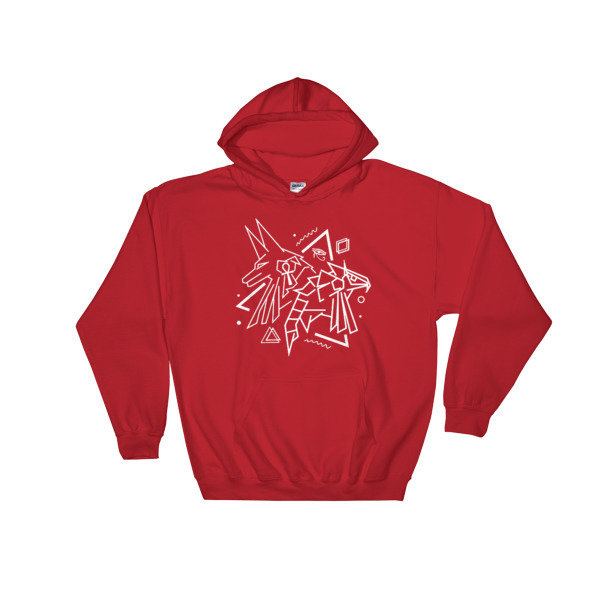 Anubis X Horus Hooded Sweatshirt