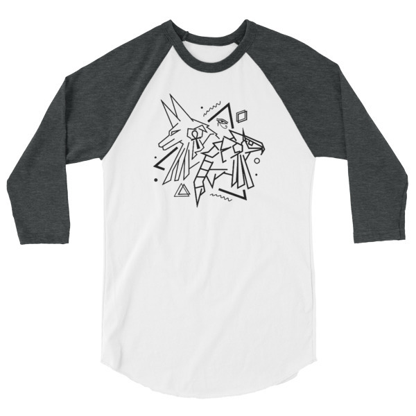 Pyramid 3/4 sleeve shirt