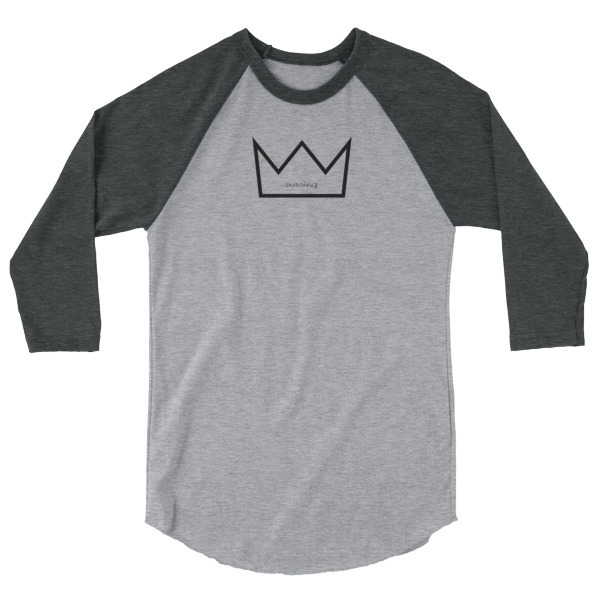 King 3/4 sleeve shirt