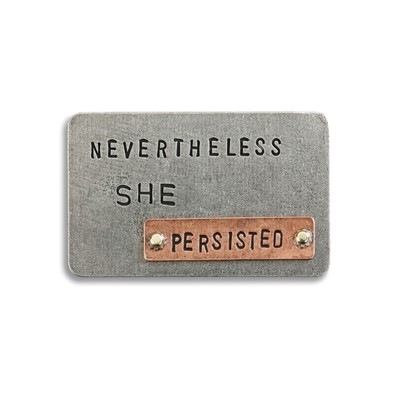 NEVERTHELESS SHE PERSISTED INSPIRE CARD