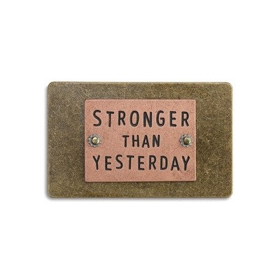 STRONGER THAN YESTERDAY INSPIRE CARD