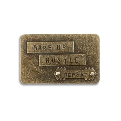 WAKE UP HUSTLE INSPIRE CARD