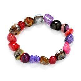 Kids Chakra Crystal Stone Bracelet Jewelry*
