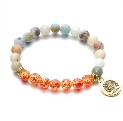 Natural Stone Beaded Bracelet*