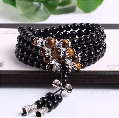 Meditation Prayer Mala Long Strand Bracelet/Necklace