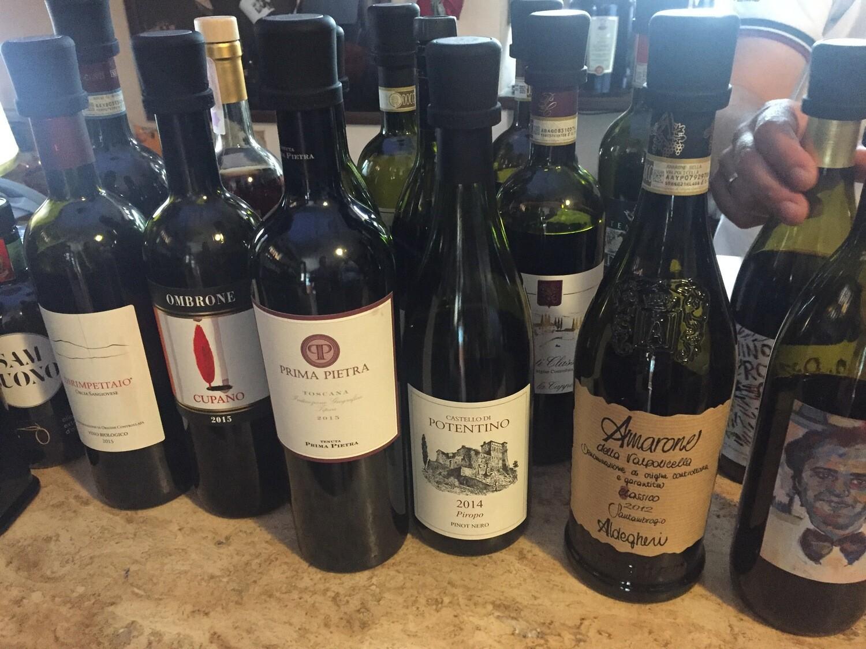 Toscanan viini- ja ruokamatka 3.-7.6.2020  1325€/2hh