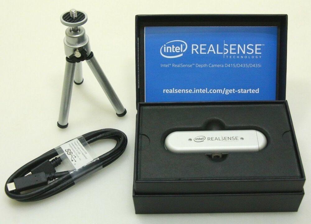 Intel® RealSense™ Depth Camera D435i (IMU) - Starter Kit