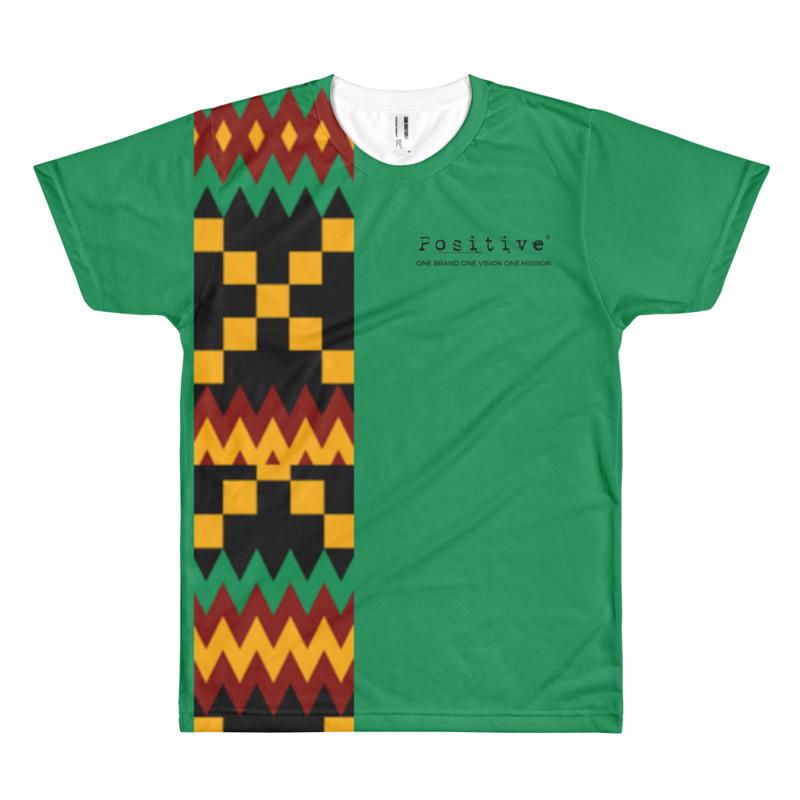 T-shirt POSITIVE - WEAFRICA KENTE