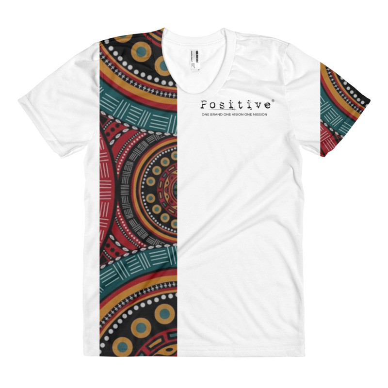 T-shirts POSITIVE -WEAFRICA WHITE DONNA