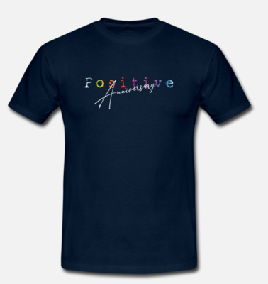 T-shirt POSITIVE Anniversary Limited Edition