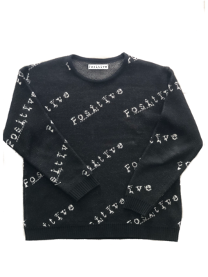 Maglione a maglia Positive