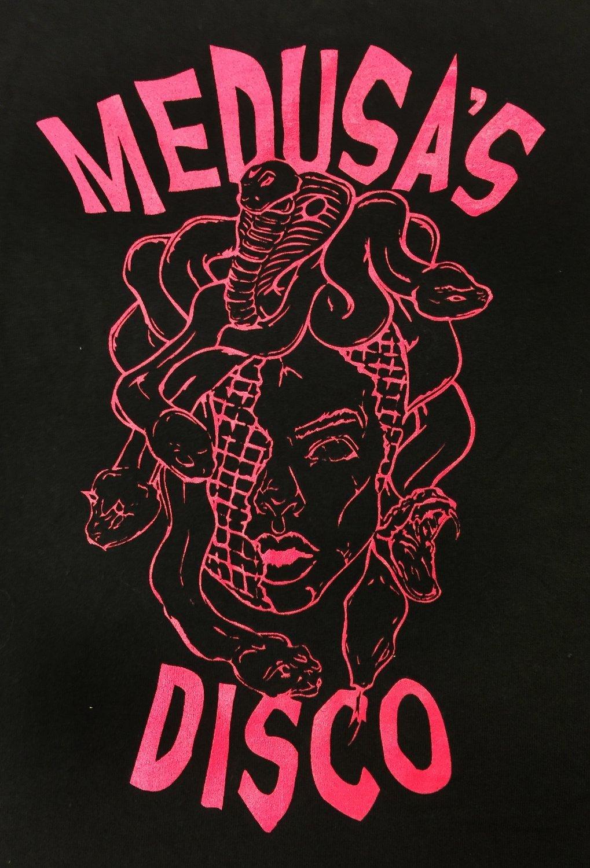 Pink Medusa Head T-shirt