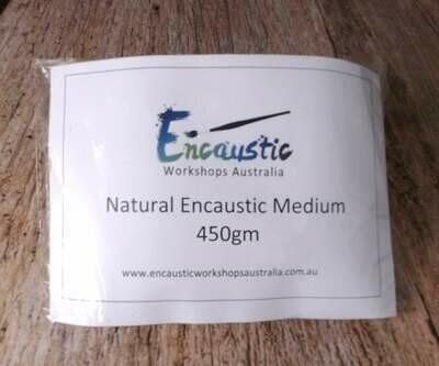 Encaustic Medium Natural Cubes  450gms