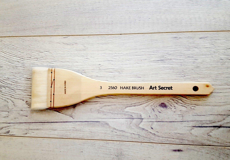 Hake Brush #3 (6cm)