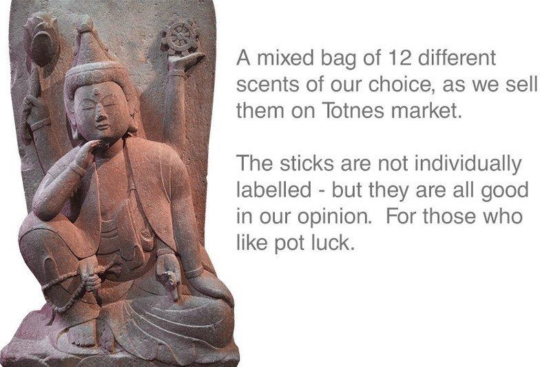 Lucky Dip Mixed Bag of Incense 12 sticks