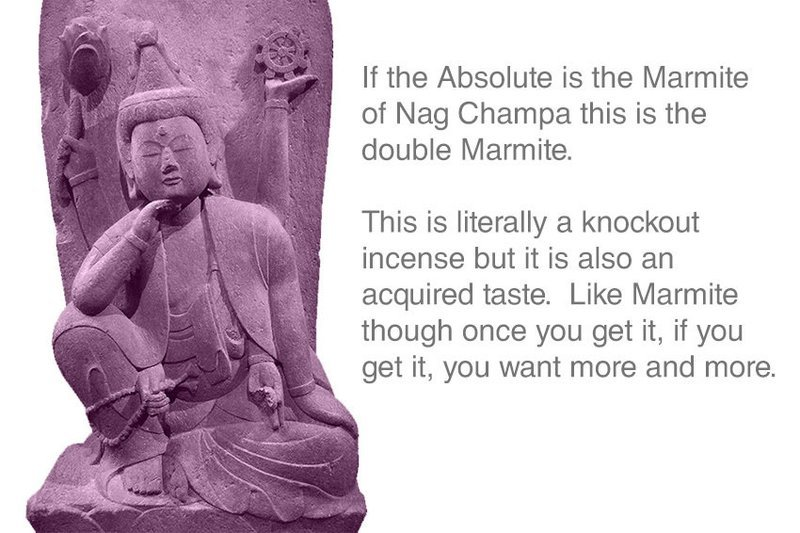 Double Absolute Temple Nag Champa 12 sticks