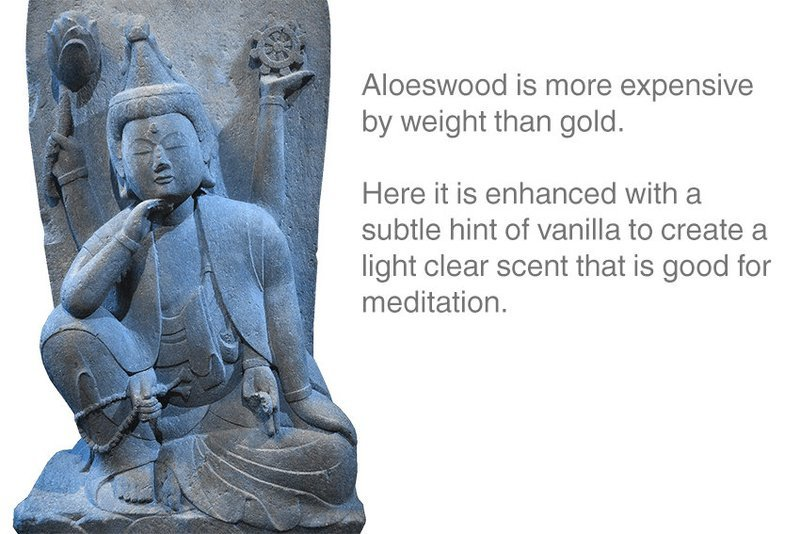 Aloeswood Incense 12 Sticks