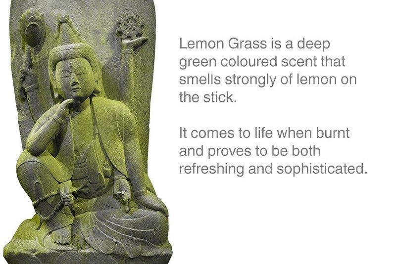 Lemon Grass Incense 12 Sticks