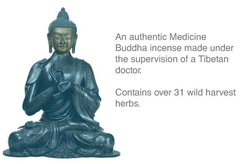 Medicine Buddha Tibetan Incense Approx 30 stick Box