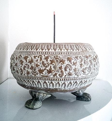 ** £82.50 after discount **  Old Hand Made Indian Incense Burner. Click for more details