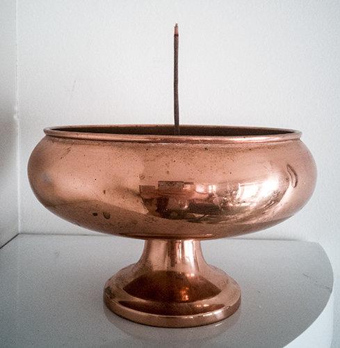 ** £30.60 after discount **Antique Copper Bowl Incense Burner. Click for details