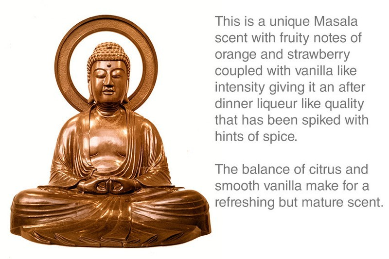 Orange Champa Incense 10 Sticks