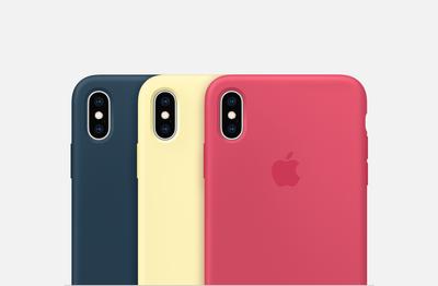 Чехол iPhone Xs Max Silicon Case (производство Apple)
