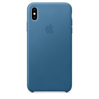 Чехол iPhone Xs Max натуральная кожа (производство Apple)