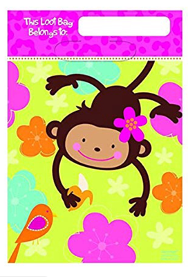 Monkey Love Loot Bag