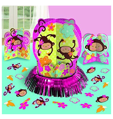 Monkey Love 3 pc Table decorating kit