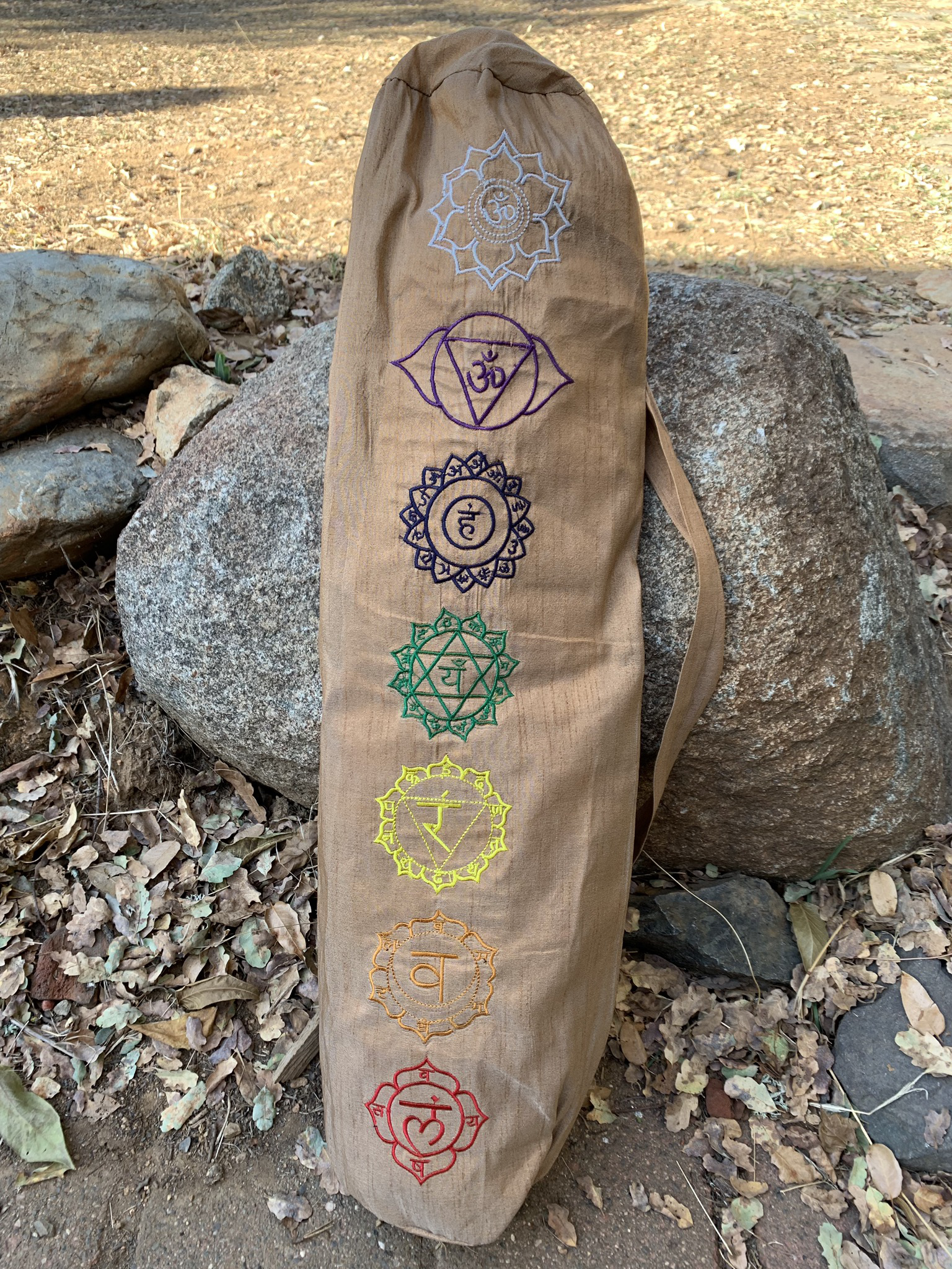 Tan Yoga Mat Bag 00041