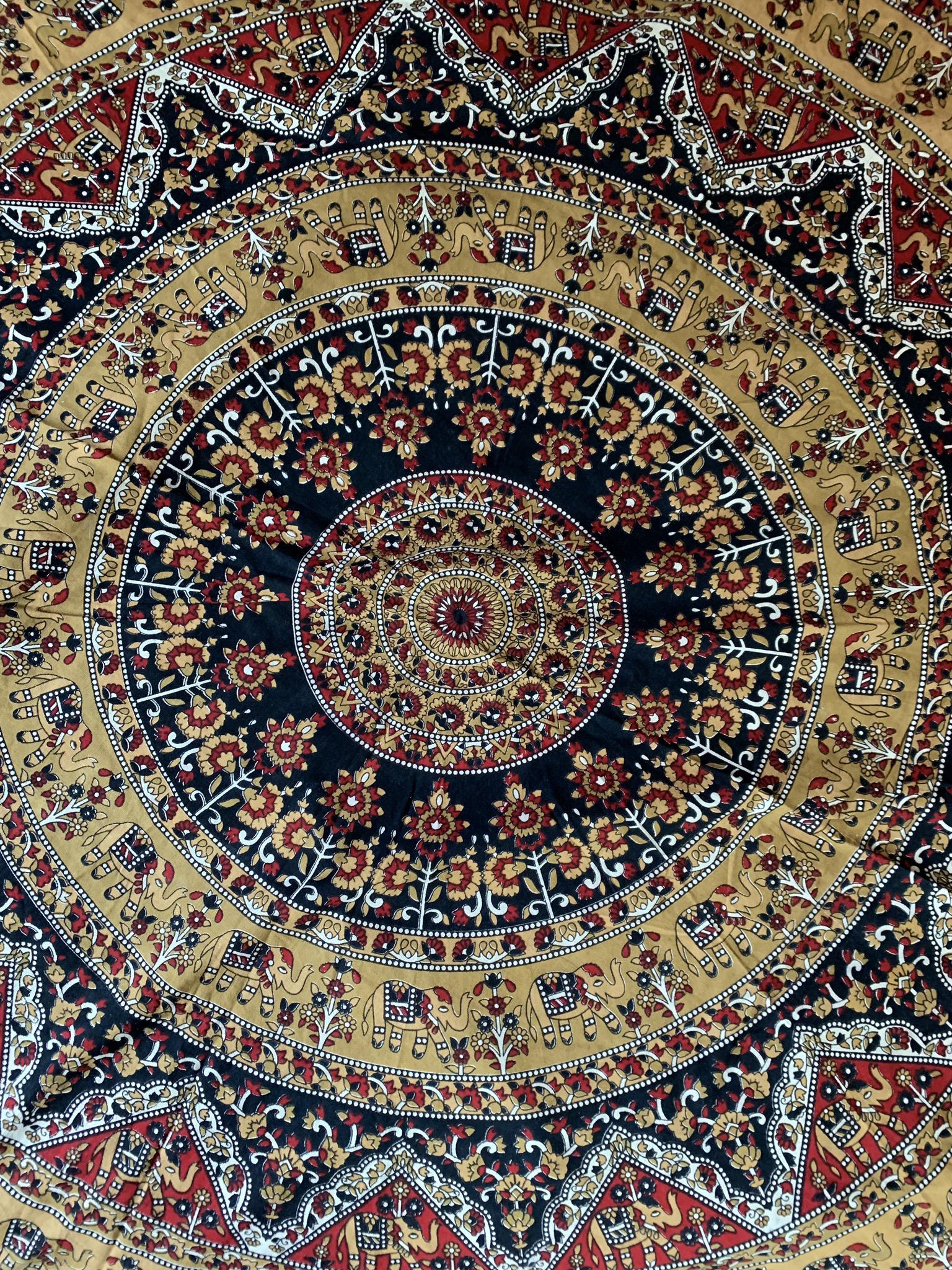 Small Fringe Tapestry 00084