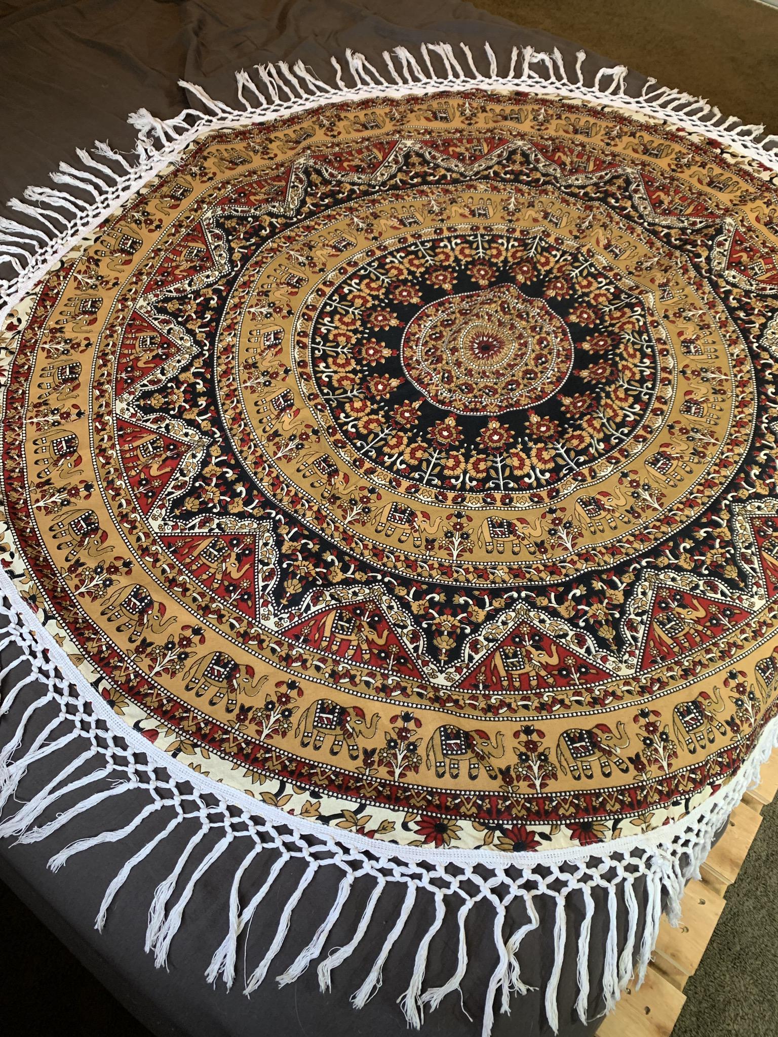 Small Fringe Tapestry
