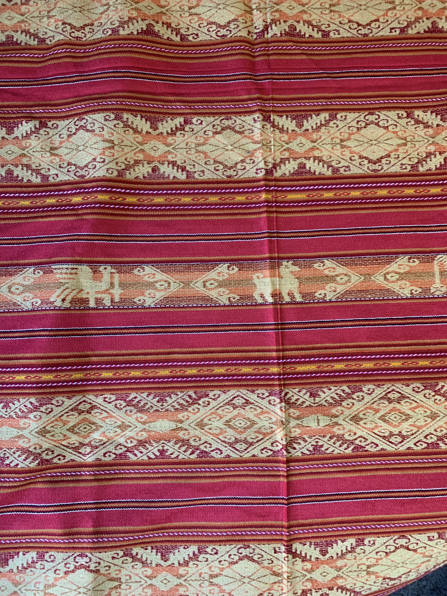 Small Red Tablecloth