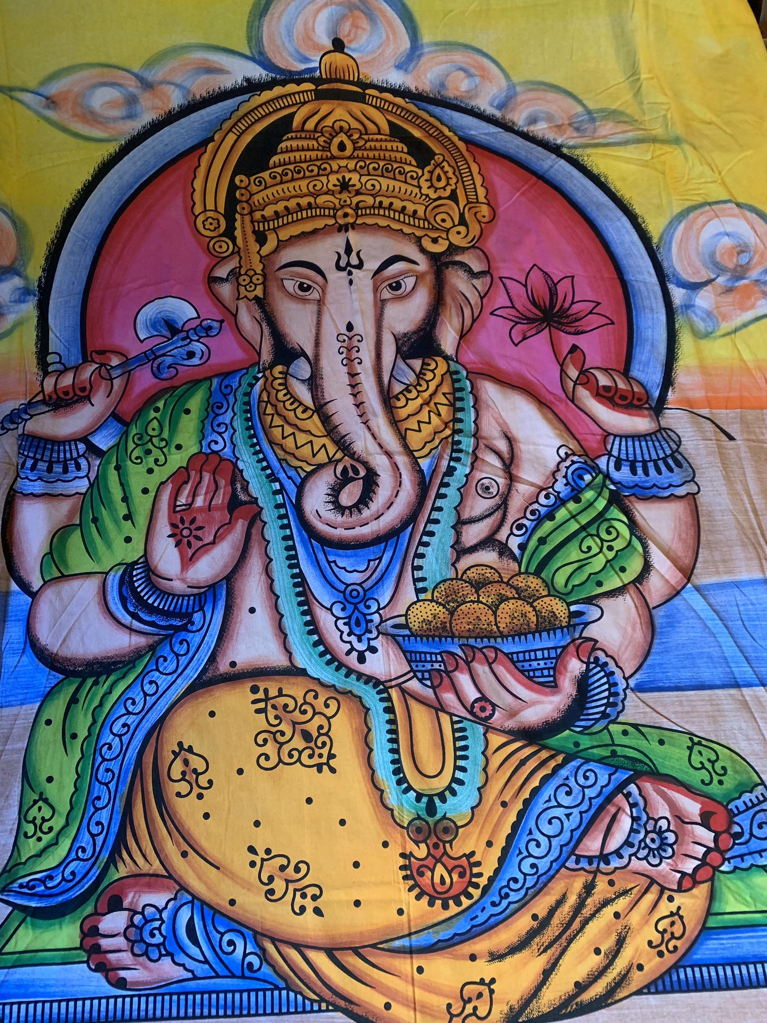 XL Ganesha Tapestry