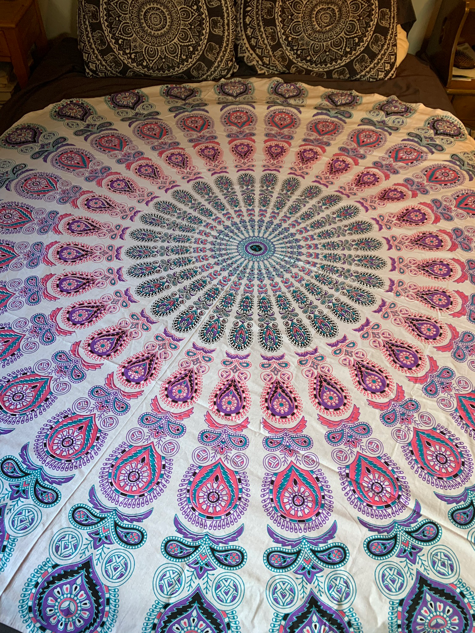 Large Pink Tapestry