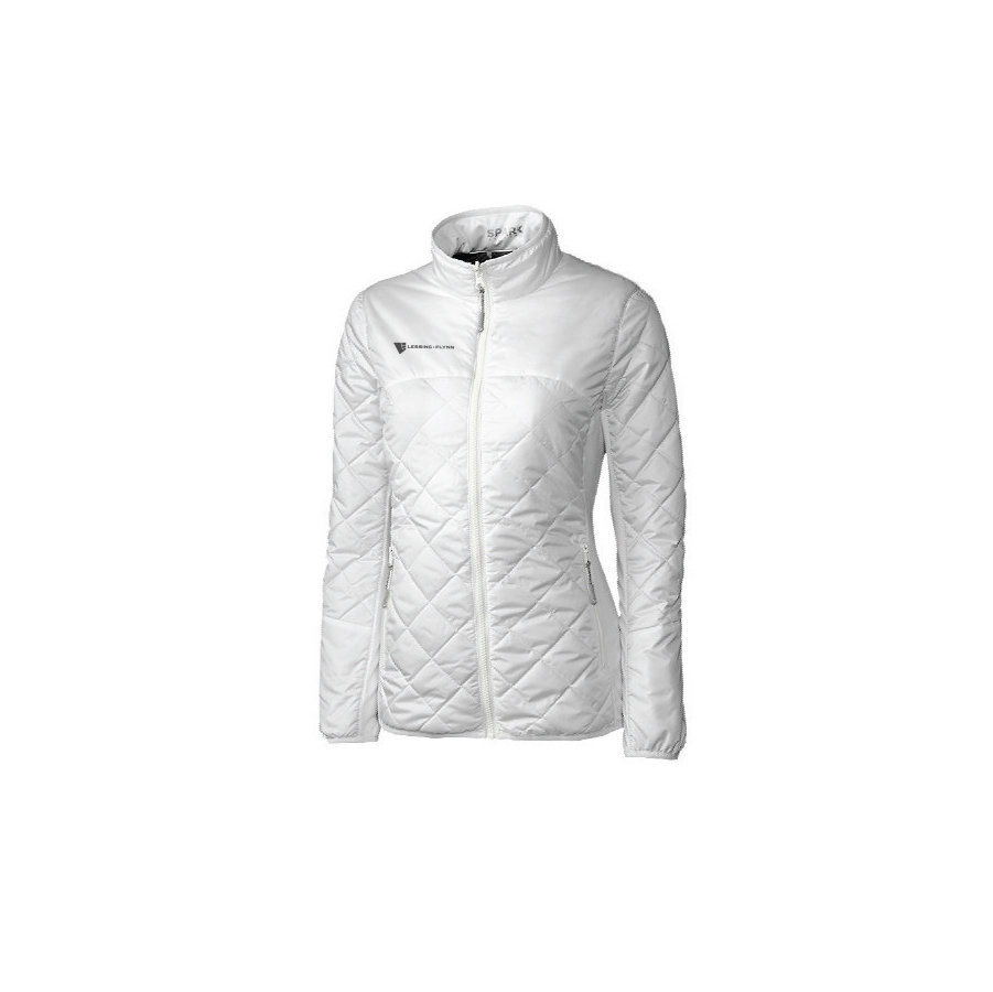 Cutter & Buck Ladies' L/S Lt Wt Sandpoint Quilted Jacket - Embroidered HPKEF-LXILH