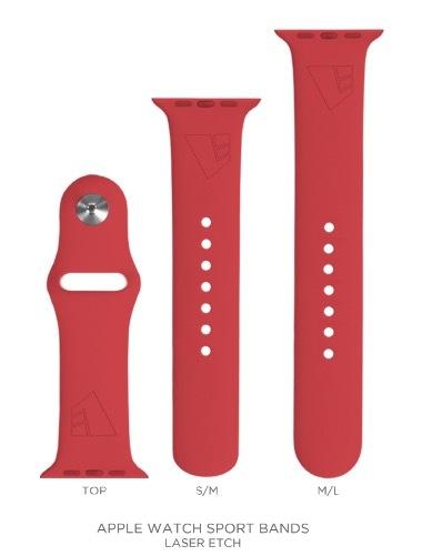 LF-branded Apple Watch Sport Band 00036