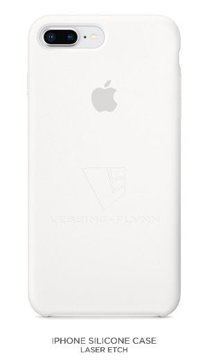 LF-branded Silicone iPhone Case