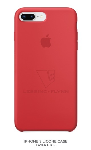 LF-branded Silicone iPhone Case 00037