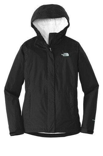 The North Face Ladies' DryVent Rain Jacket w/ Embroidered Logo