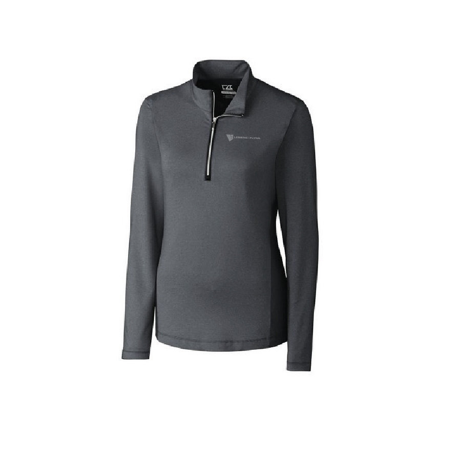 Cutter & Buck Ladies' L/S Madeline Half Zip Mock
