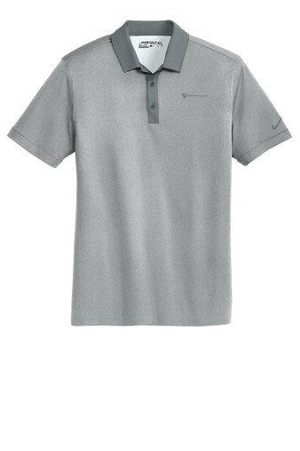 Nike Golf Dri-Fit Heather Pique Modern Fit Polo Shirt KONMF-LHMAZ
